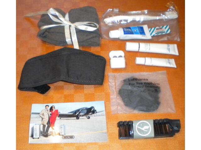Lufthansa First Class Rimowa Amenity Kit  Reise-Set  Reinweiss , NEU und OVP