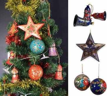 Garage Sale/Christmas Ornaments Bauble/Ball Bell Star Hearts more