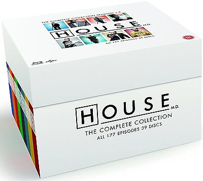 House M D  The Complete Series  Blu Ray Box Set  Collection All Seasons 1 8 Md