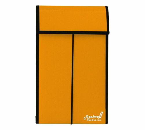 Rockwell Artist Brush Easel & Storage Case Large - Goldenrod