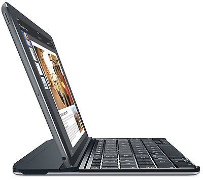 Logitech Magnetic Clip-On Bluetooth Ultrathin Keyboard Cover iPad Air 2 -Grey