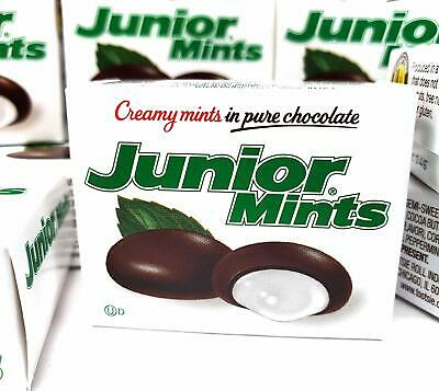 Junior Mints in Pure Chocolate Candy, Mini Boxes, 70 Count
