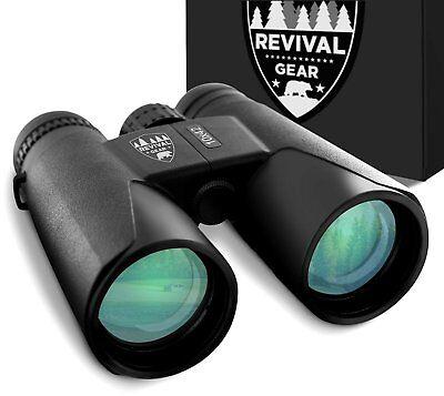 10x42 Revival Gear Binoculars for Adults : Bird Watching, Hunting, Fishing ...