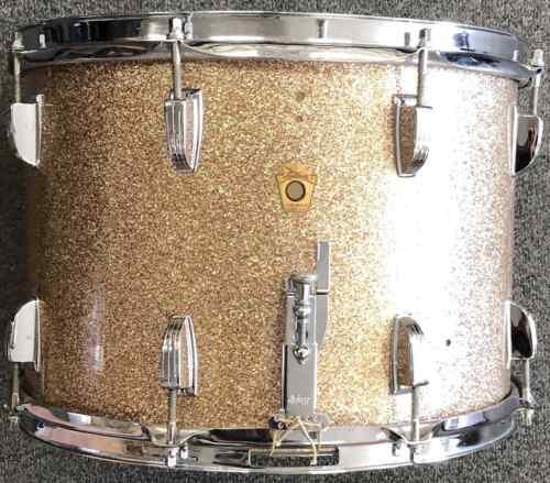 Vintage Ludwig Snare Drum 1965-Champagne Sparkle