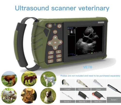 Portable Digital B-Ultrasound Scanner for Veterinary/Cattle/sheep/horse/pig/dog