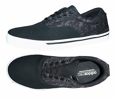 Adidas Neo Park ST Classic W Damen Sneaker Canvas Freizeit Schuhe Gr. 42 schwarz - Adidas Canvas Schuhe