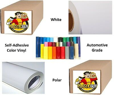 36 X 50yd 6yr Outdoor Sign Vinyl Film Craft Hobby Roll Sheet White