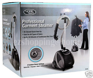 Home touch 1500watts professional garment steamer ps 280 ebay - Six advantages using garment steamer ...