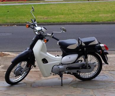 Symba Sym Honda Cub Postie Bike