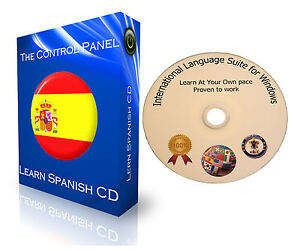 LEARN TO SPEAK SPANISH BASIC LANGUAGE COURSE PC DVD NEW