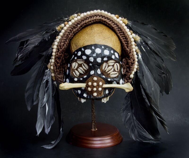 Tribal Asamt Human Skull (Replica)
