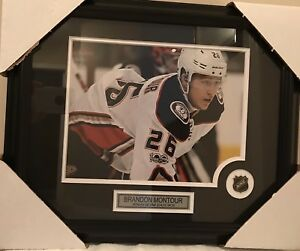 Brandon Montour Anaheim Ducks Photo Framed