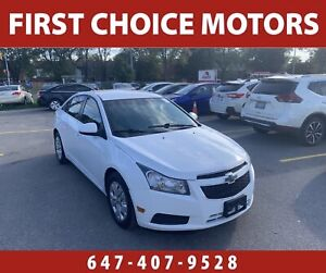 2012 Chevrolet Cruze LT. ~AUTOMATIC, LOADED, FULLY CERTIFIED~