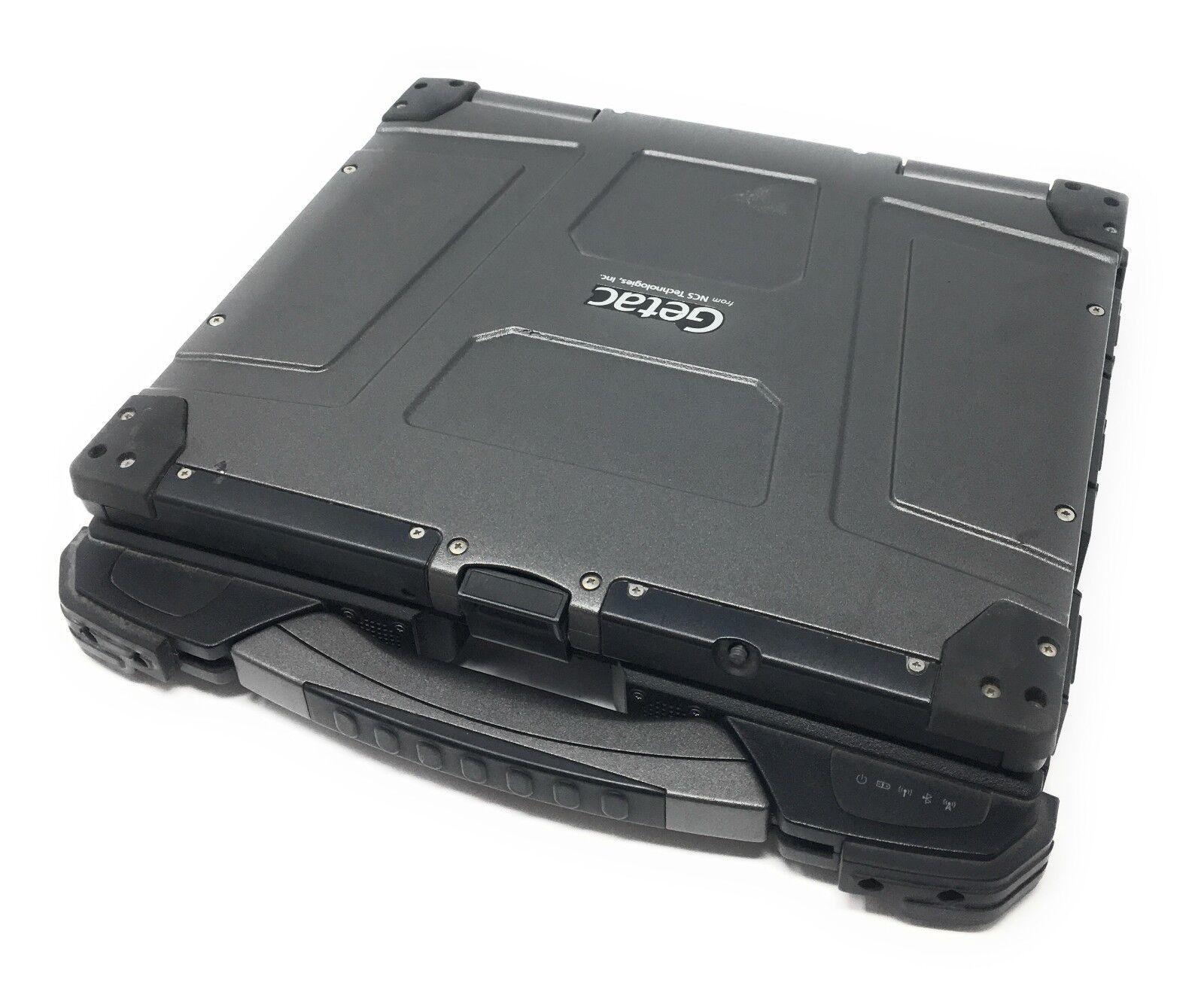 Getac B300-X Rugged Core i7 2GHz 4GB RAM Backlit Keyboard Laptop Notebook B300X