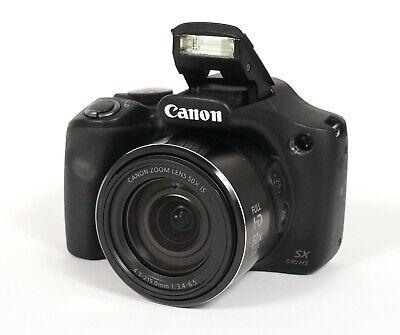 ** EXCELLENT ** Canon PowerShot SX530 HS 16MP Digital Camera - Black