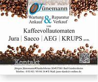 Wartung & Reparatur von Kaffeevollautomaten Niedersachsen - Bad Gandersheim Vorschau