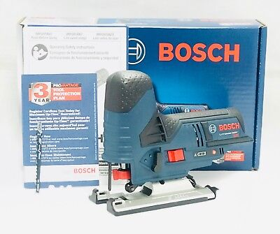 (Bosch JS120BN 12V Cordless Jig Saw & Exact-Fit Tool Insert Tray (Bare Tool) New)