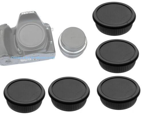 5 Packs Lens Rear Body Cap for Pentax K Lens K-70 K-1 K-3 II  K-S2 K-S1 K-3