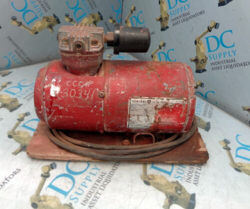 GE GENERAL ELECTRIC 5KH33GN293X 1/6 HP 115 V 1725 RPM ELECTRIC MOTOR
