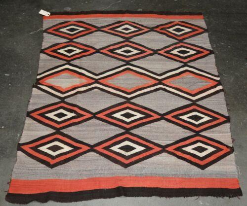 Navajo Transitional Period Banded Shoulder Blanket, c. 1880 - 1890