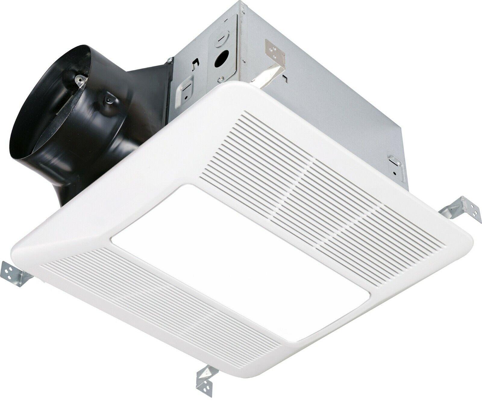 KAZE SEPD200L2 Quiet Bathroom Ventilation Exhaust Fan LED Li