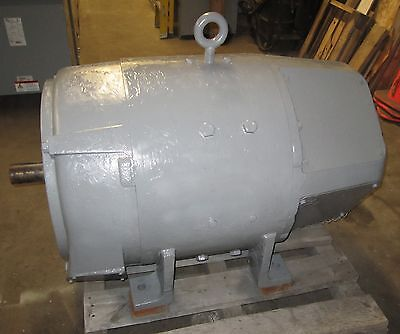 Westinghouse 100 Hp Dc Motor 850-1300 Rpm 585as Frame Type Skh - Rebuilt