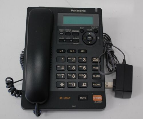 Panasonic KX-TS620B Integrated Corded Phone with All-Digital Answering System
