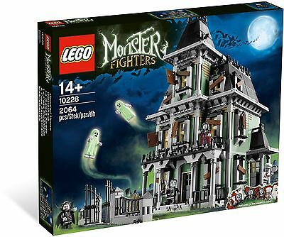 LEGO 10228 Haunted House Monster Fighters New Sealed! Halloween set!