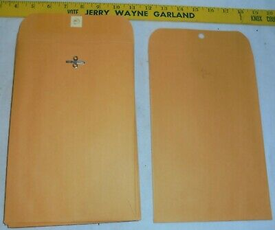 Qty-25 Heavyweight 6 X 9 Manila Clasp Envelopes