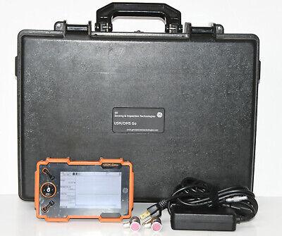 Ge Usm Dms Go Ultrasonic Flaw Detector Wtransducer