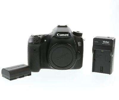 Canon EOS 70D 20.2MP Digital Camera Body