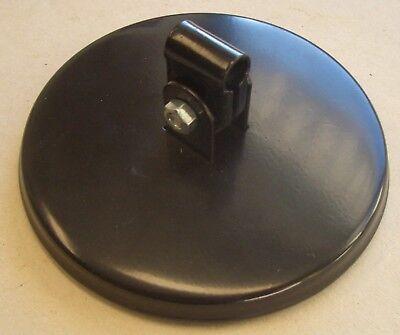 Rückspiegel rund schwarz ø 106mm ø Metallgehäuse 130mm Traktor 30102