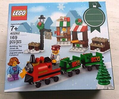 Lego Christmas Train Ride #40262 - Holiday, Tree, Figures, Lamp Post ~New in Box