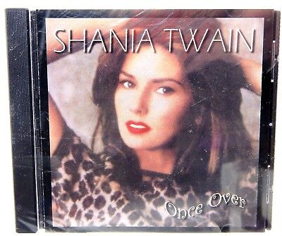 Shania Twain   Once Over Cd 1989 Gfs Records Prod By Paul Sabu New Free Shipping