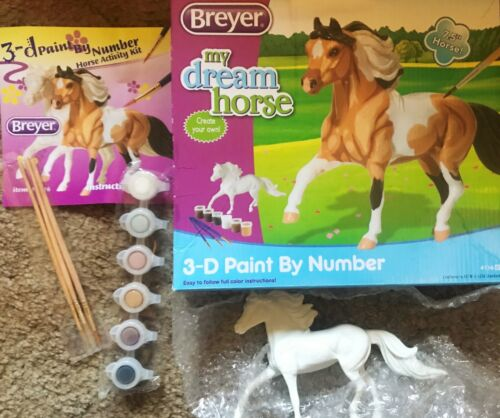 New In Box BREYER My Dream Horse 3D Paint By Number Kit