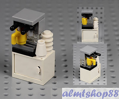 LEGO - Espresso Machine Coffee Maker Cup - Food Drink Kitchen Appliance Minifig