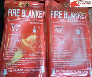 Fire Blanket - 1x1m Wodonga Wodonga Area Preview