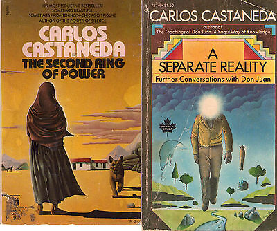 Complete Set Series   Lot Of 12 Teachings Of Don Juan Books By Carlos Castaneda