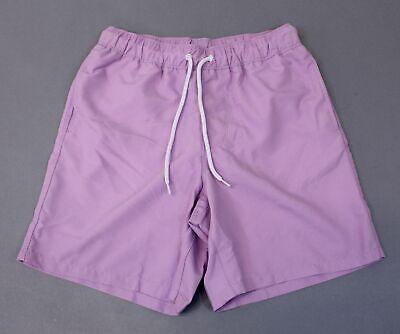 ASOS DESIGN Women's Mid Length Swim Shorts LP7 Lilac Size XXS (Women's Mid Length Swim Shorts)