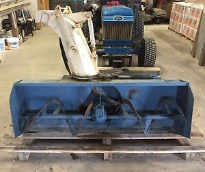 Ford front mount snow blower