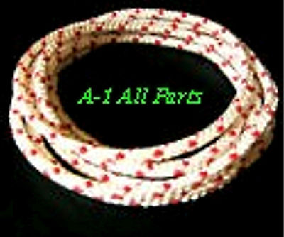 """No # 6, 3/16"""" ROPE Cord String Pull Start Recoil  SOLD PER FOOT -- MADE IN USA"""