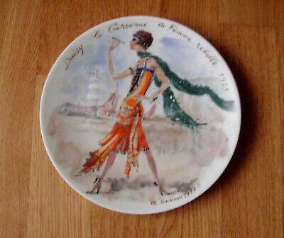 Frauen Daisy (Daisy la Garconne - Ganeau - Frauen des Jahrhunderts - Limoges - Teller)