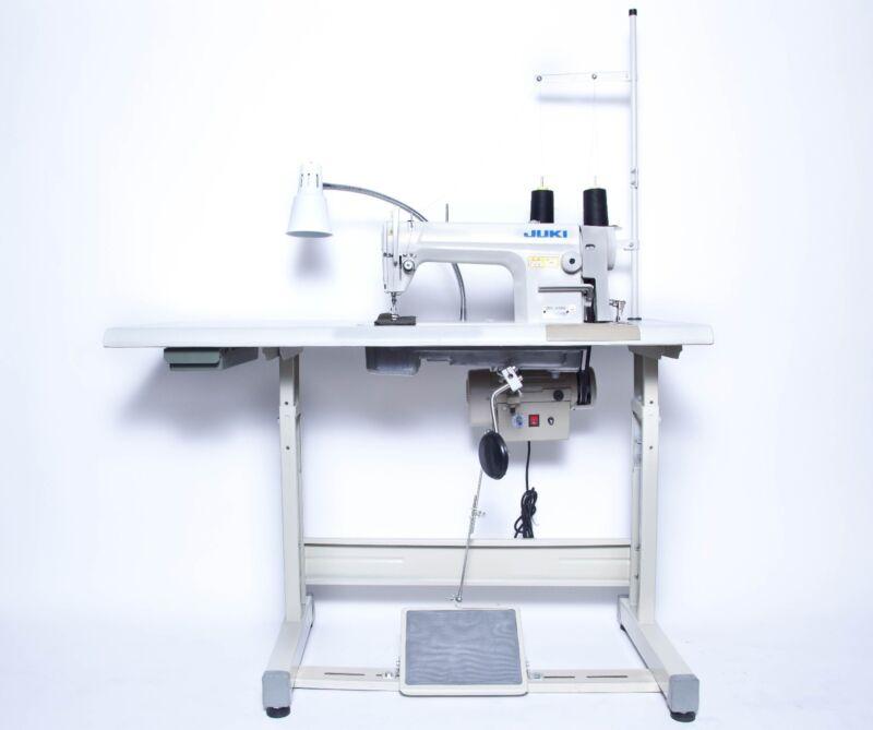 JUKI DDL-8700 Sewing Machine with Servo Motor, Stand & LED LAMP & AUTO WINDER