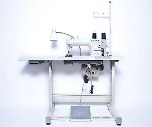 JUKI DDL-8700 Sewing Machine with Servo Motor, Stand & LED LAMP