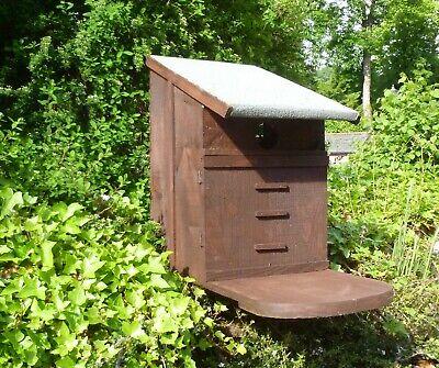 Squirrel nest box by Homes for woodland folk