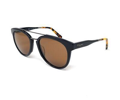Salvatore Ferragamo Sunglasses SF865S 414 Blue Aviator Men's (Mens Blue Aviator Sunglasses)