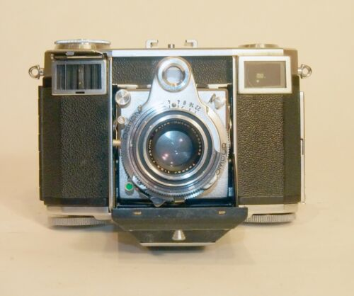 Zeiss Ikon Contessa-35 Rangefinder, Tessar 45mm f2.8 lens. Just CLA