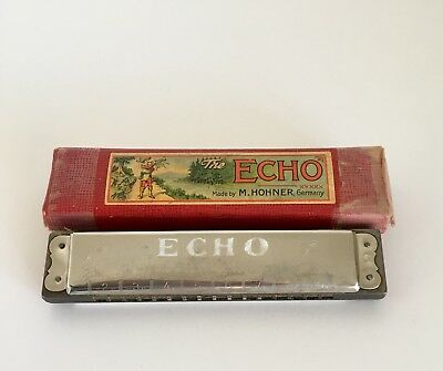 m hohner echo harp for sale  Sweet Grass