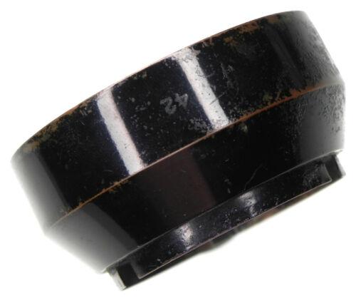 Zeiss Black Paint 42mm Slip-on Hood for Black & Nickel 5cm f1.5 & f2  #16