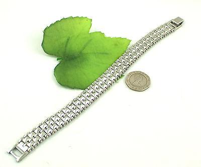 Gatik BR1022 Gents 316L Stainless Steel Watch Style Bracelet